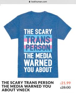 LookHuman.com Transgender Media T-Shirt
